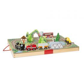 Melissa & Doug - Take-Along Railroad