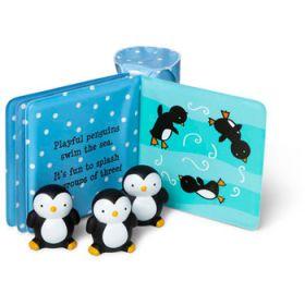 Melissa and Doug - Float Alongs Bath Book - Playful Penguins