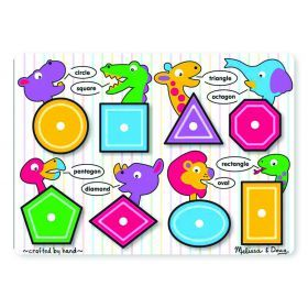Peg Puzzle - Shapes