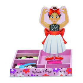 Melissa and Doug Nina Ballerina Magnetic Dress-Up