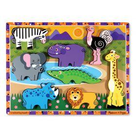 Melissa & Doug Chunky Puzzle - Safari
