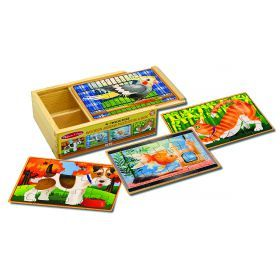Melissa and Doug Pets Puzzles in a Box