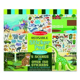 Melissa and Doug Habitats Reusable Sticker Book