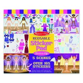 Melissa and Doug Reusable Sticker Pad - Fashion