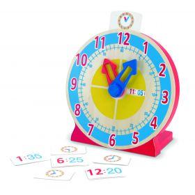 Melissa and Doug Turn & Tell Clock