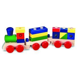 Melissa and Doug Wooden Stacking Train