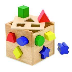 Melissa and Doug Shape Sorting Cube