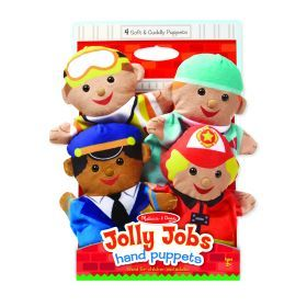 Melissa and Doug Jolly Helpers Hand Puppets