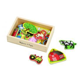 Melissa and Doug Magnetic Wooden Farm