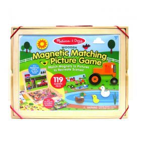 Melissa and Doug Wooden Magnetic Picture Game