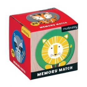 Mudpuppy Memory Match - Geo Animals