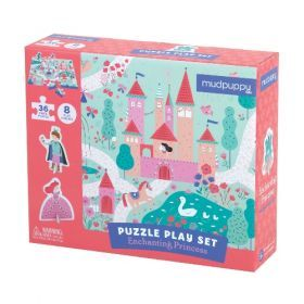 Princess Puzzle Play Set - 36 pcs