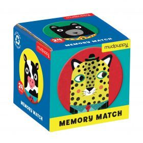 Mudpuppy Memory Match - Animals