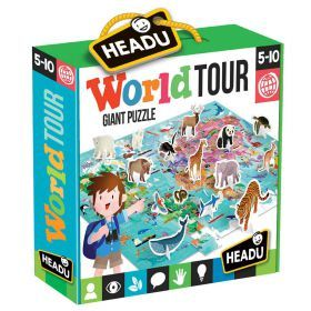 World Tour Giant Puzzle