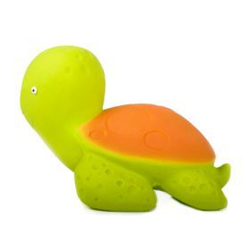caaOcho Mele the Sea Turtle | Natural rubber bath toy