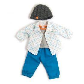 Miniland Clothing Blue Spring set, 38-42 cm