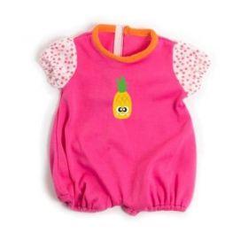 Miniland Clothing Light pink pyjamas, 38-42 cm