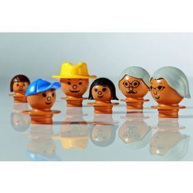 Mobilo Family figures - Brown