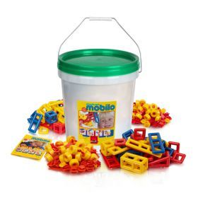 Mobilo Construction Toy - Giant Bucket 416 Pcs