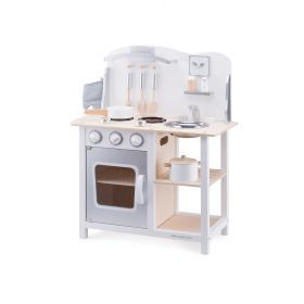 Classic White Kitchenette with Accessories