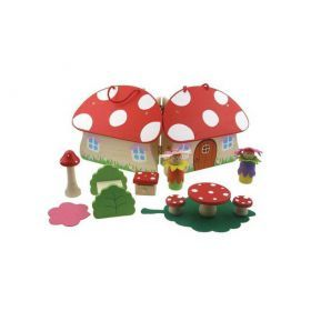 Fairy Toadstool Playset