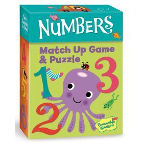 Peaceable Kingdom - Match Up Games - Numbers