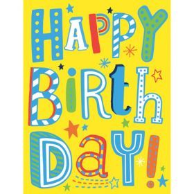 Happy Birthday - Small Gift Card