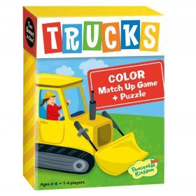 Peaceable Kingdom - Match Up Games - Trucks