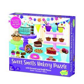 Peaceable Kingdom 70+ pc Scratch & Sniff Puzzle - Sweet Smells Bakery