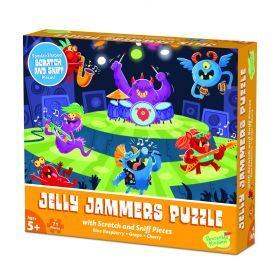 Peaceable Kingdom 70+ pc Scratch & Sniff Puzzle - Jelly Jammers