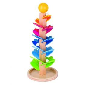 Pagoda marble game