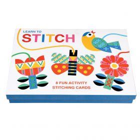 Cardboard Learn To Stitch