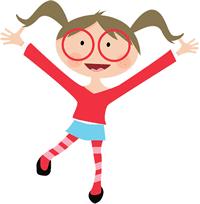 Rainbow building blocks with windows