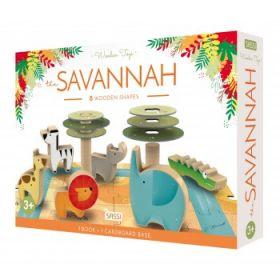 Sassi Savannah Game and Puzzle