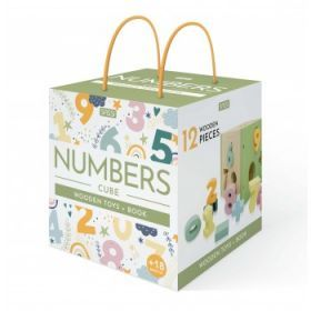 Sassi Wooden Sorting Box and Book - Numbers