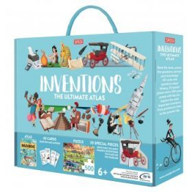Sassi The Ultimate Atlas and Puzzle Set - Inventions