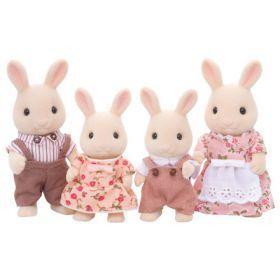 Sylvanian Families - Milk Rabbit Family