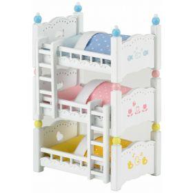 Sylvanian Families - Triple Bunk Beds