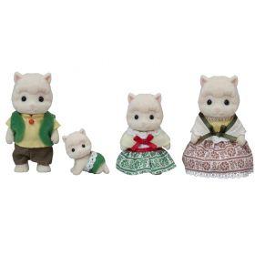 SF - Woolly Alpaca Family