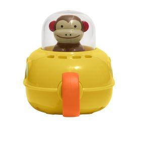 Skip Hop Zoo Bath Pull & Go Monkey Submarine