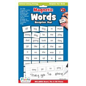 Magnetic Sight Words - Kindergarten
