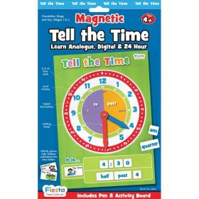 Fiesta Crafts - Magnetic Tell the Time