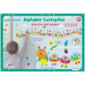 Fiesta Crafts - Alphabet Caterpillar Wall Stickers