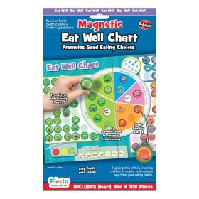 Fiesta Crafts - Magnetic Eat Well Chart