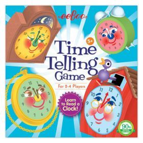 eeboo Time Telling Game - Cover