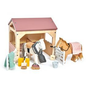 Tender Leaf Toys Horse Stables
