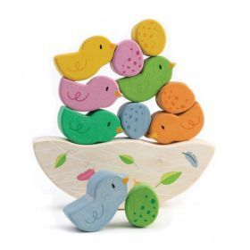 Tender Leaf Rocking Baby Birds Balancing Set