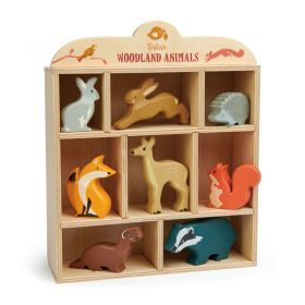 Tender Leaf Woodland Wooden Animals Set of 8