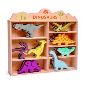 Tender Leaf Wooden Dinousaur Set