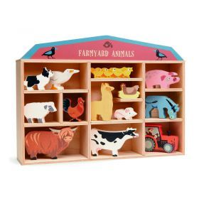 Tender Leaf Wooden Farmyard Set